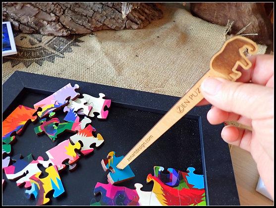 Peapod Puzzle Tray