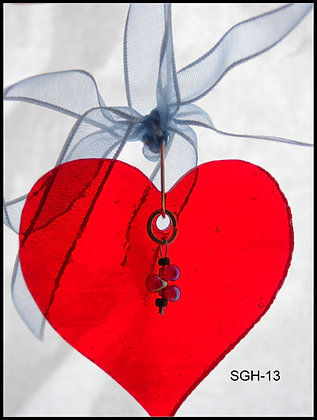 SGH-13 Heart Ornament