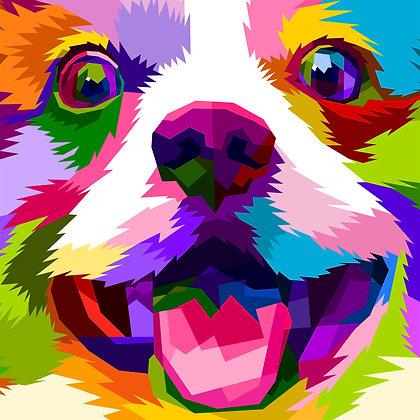25/Peapod Puzzle-Rainbow Puppy