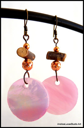 SGE-3 Stained Glass Earrings