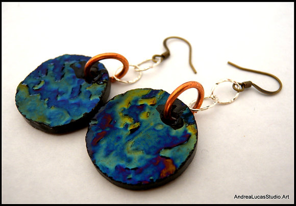 SGE-5 Stained Glass Earring