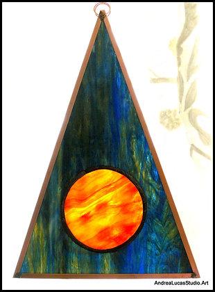 #1Large Sunset Isosceles