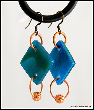 #11 - Stained Glass Earrings
