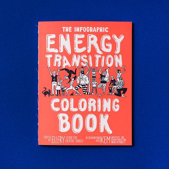 Ein Infografik-Malbuch zur Energiewende (in english)