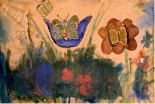 Friedl Dicker-Brandeis and Artwork by the Children of Theresienstadt