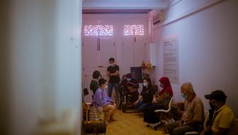 Artists with Muslim Kidney Action Association (MKAC) Participants