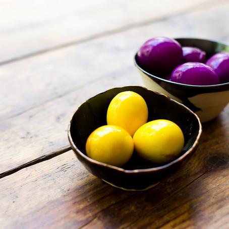 Turmeric Pickled Eggs