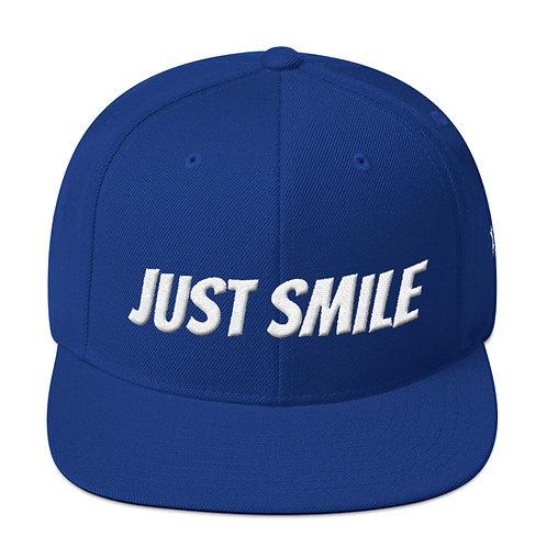 JUST SMILE Snapback