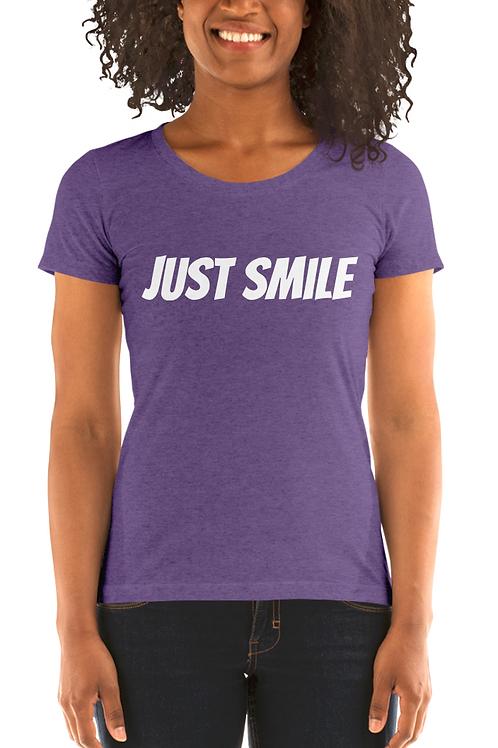 Women's JUST SMILE Tee