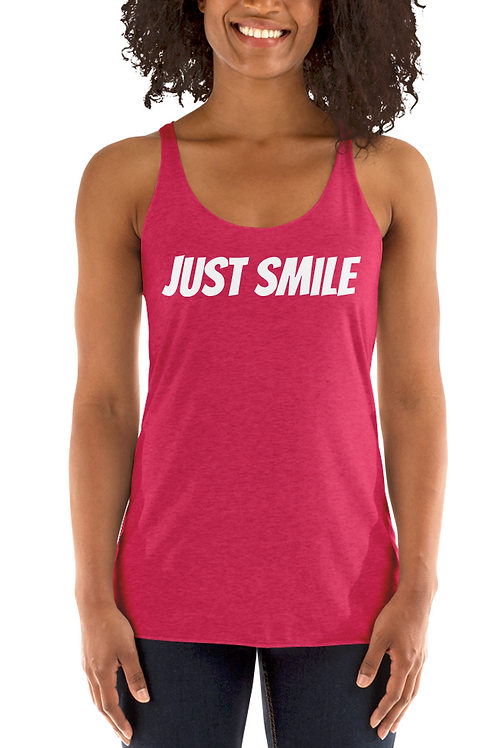JUST SMILE Racerback