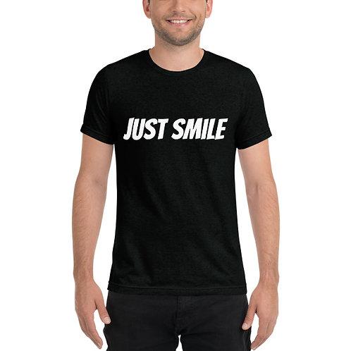 JUST SMILE Men's Tee