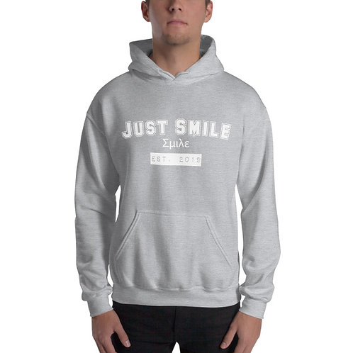 JUST SMILE College Hoodie