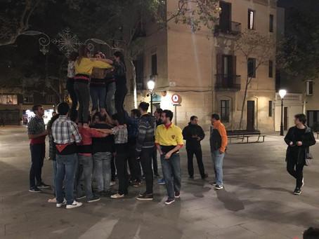 Els Castellers de Sarrià tornen a Barcelona.