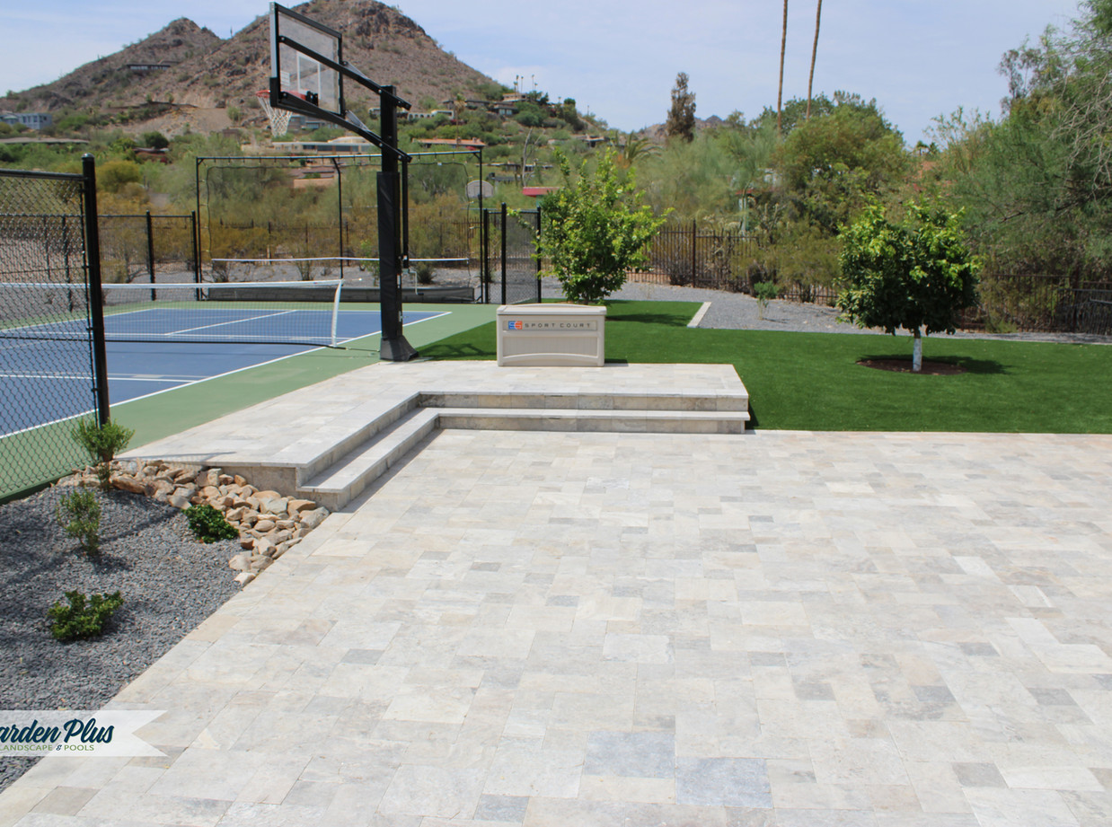 Sports Pad from Backyard Remodel