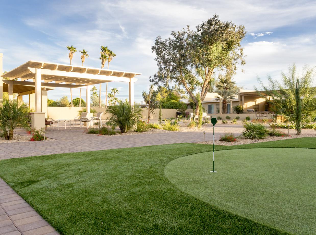 Peak Care Assisted Living Landscape
