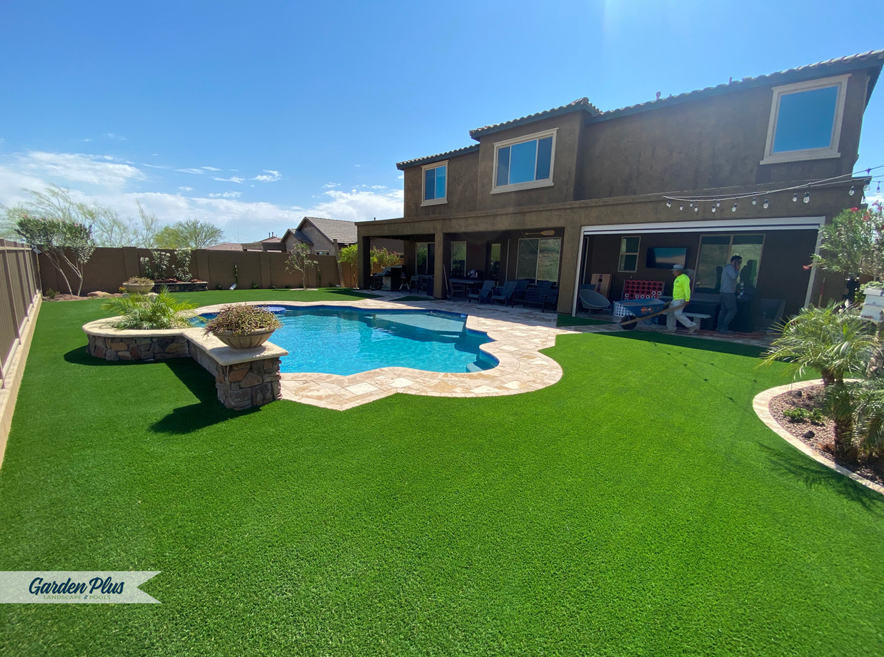 Artificial Turf and Paver Installation