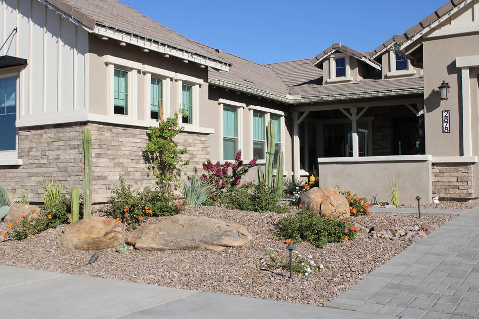 Full Front Yard Landscape Design and Build