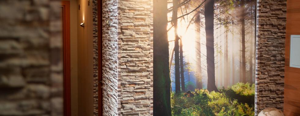 """Impresión panel Bosque, Paneles para muros """"Piedra"""""""