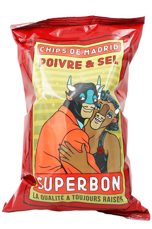 Chips Superbon poivre & sel