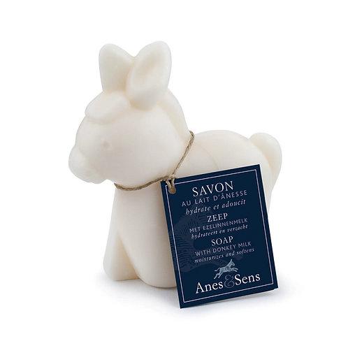 Savon au lait d'ânesse en forme d'âne parfum nature 150g