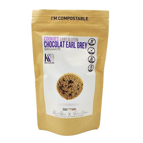 Cookies chocolat, earl grey, bergamote