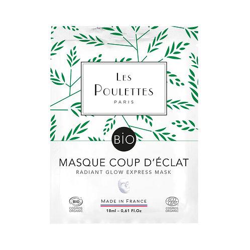 Masque Coup d'Eclat - Les poulettes Paris