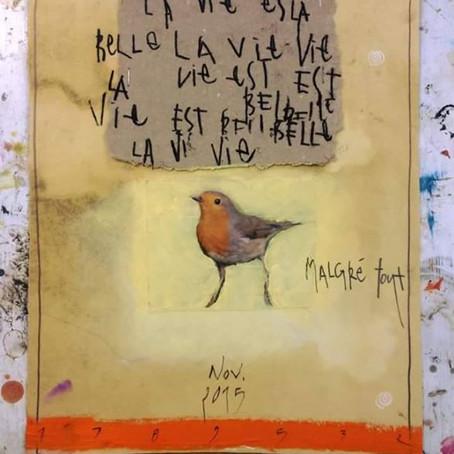 La vie est belle malgré tout, par Michèle Mascherpa
