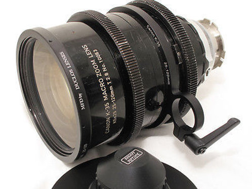 CANON K35 25-120mm MACRO ZOOM rental per day