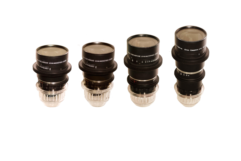 KOWA ANAMORPHIC 4 lens set rental
