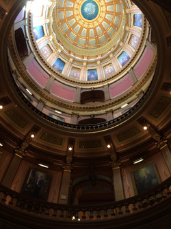 A great time at the State Capital!