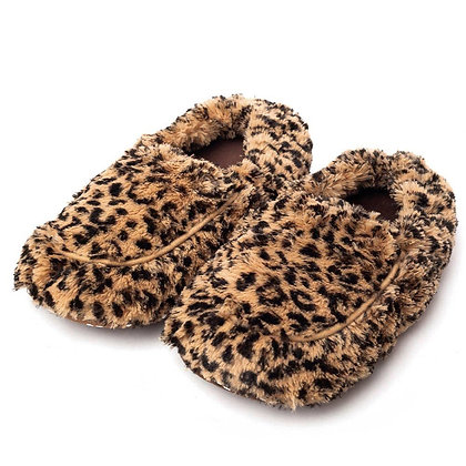 Leopard slipper Warmies