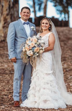 The dapper Mr & Mrs