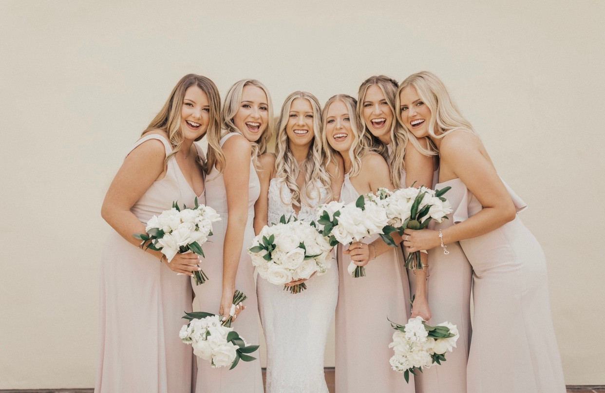 Bridal party glam