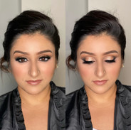 Bridal trial glam