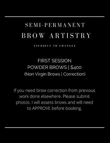 brow menu