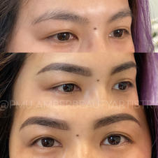 Powder Brows- Before & After