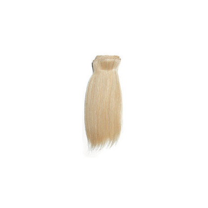 ALICIA SHORT LIGHT, ULTRA-LIGHT, WHITE HAIR WEFT