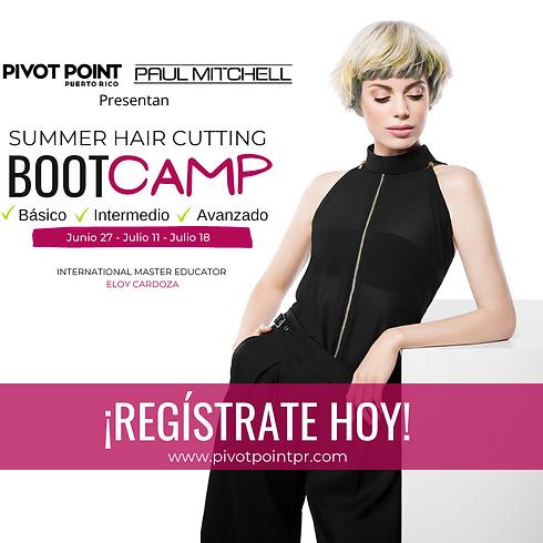 Summer Hair Cutting Boot Camp
