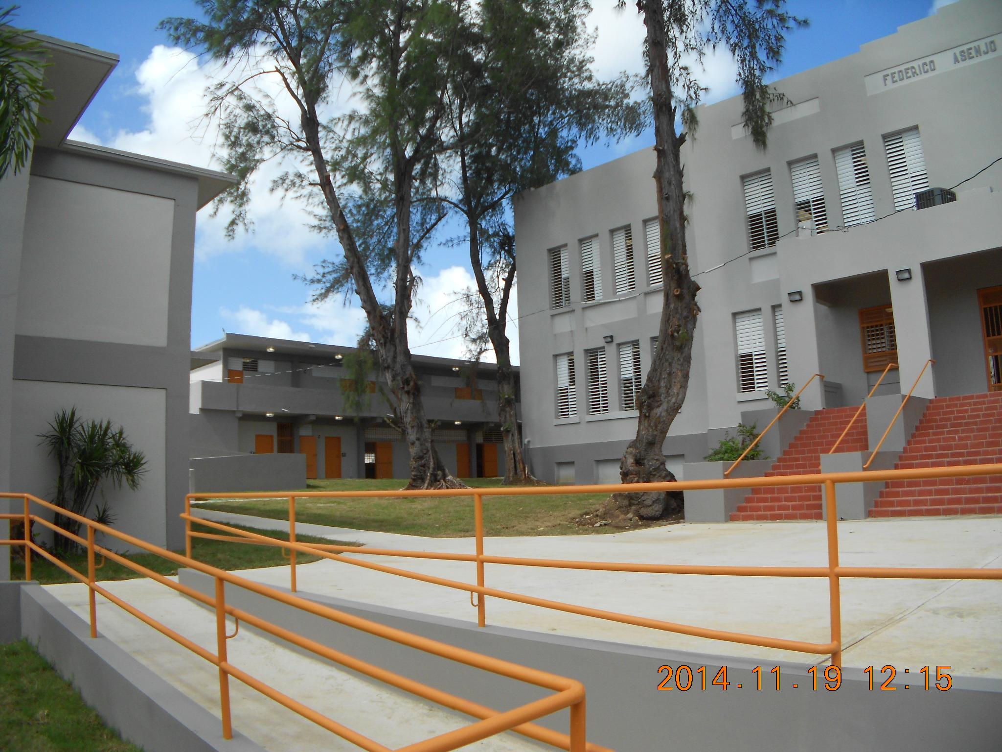 Improvements to Federico Asenjo School,