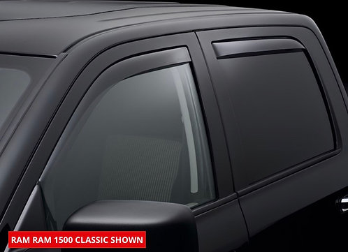 Vent Visor In-Channel Weather Tech Ram 1500 crew cab 2010-2020