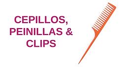 Cepillos, Peinillas & Clips