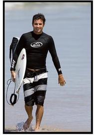 Reef board short worn by Ben Bourgeois
