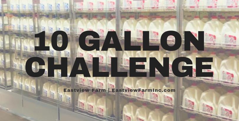 #10GallonChallenge Helps Local Farms and Foodbanks