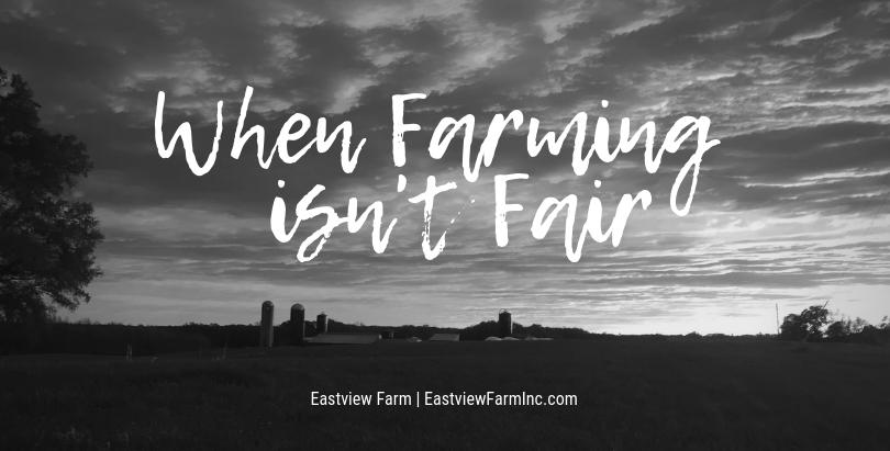When Farming Isn't Fair