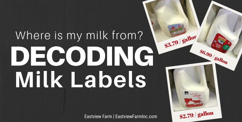 Where is my Milk From: Decoding Milk Labels