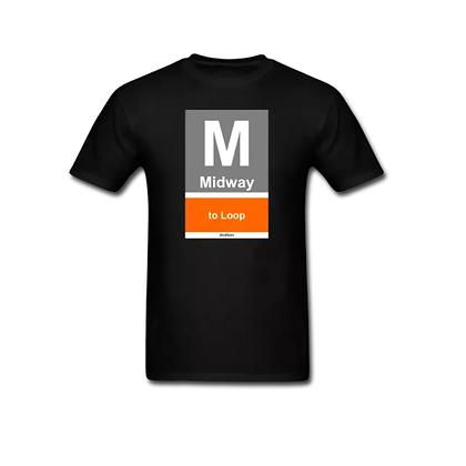 cta orange line - t-shirt