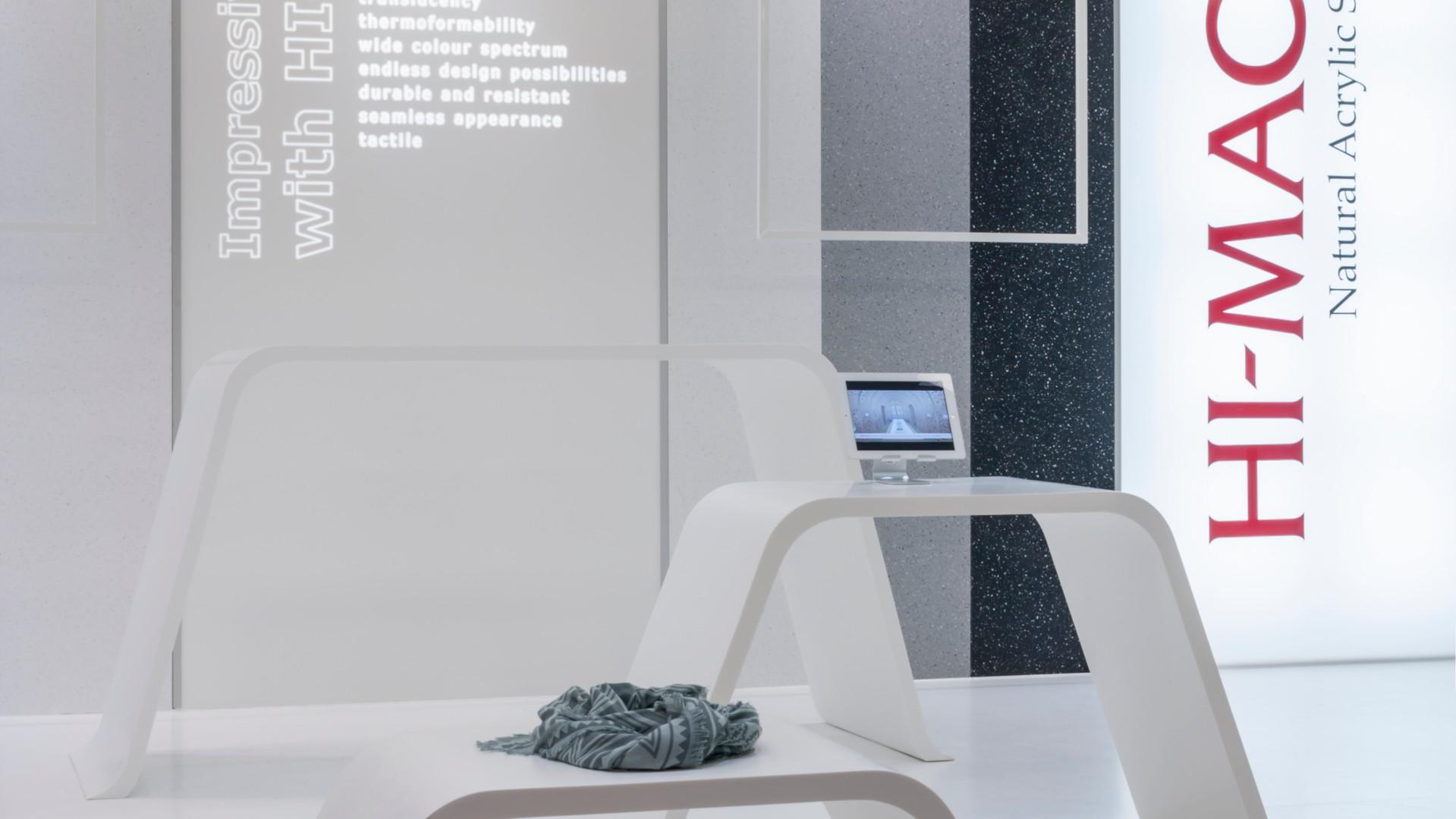 LG HI-MACS interior design