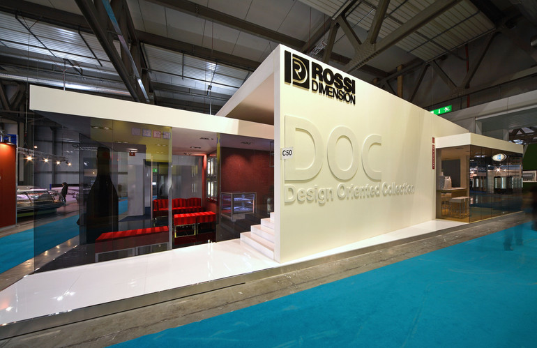 Rossi Dimsion Booth