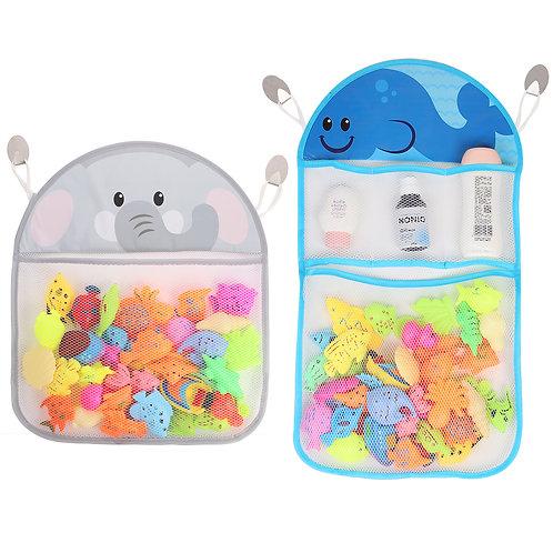 Youngever 2 Pack Bath Toy Organizer, Net for Bathtub Toys, Bathroom Storage