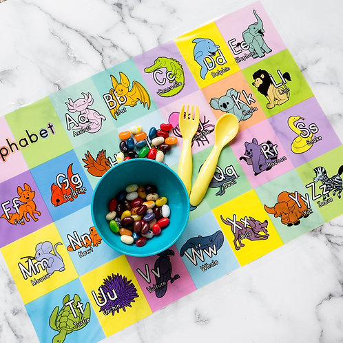 Youngever 80 Disposable Placemats Table Topper, Extra Sticky 4 Sides